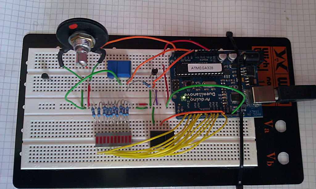 Arduino test bed 1